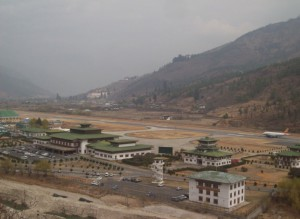 departure from paro
